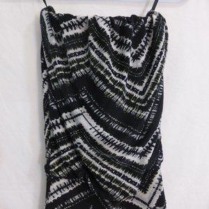 SEDUCTIONS by SIRENS long dress, xs, black & white